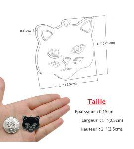 Dimension de la médaille pour chat