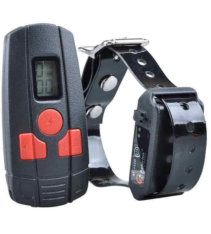 Special dog or cat training collar Aetertek AT-211D. Electric training collar.