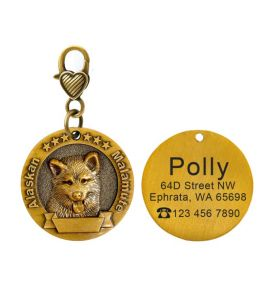 Médaille Alaskan Malamute