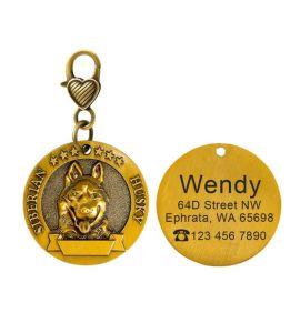 Médaille Sibérian Husky