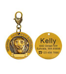 Médaille Golden retriever