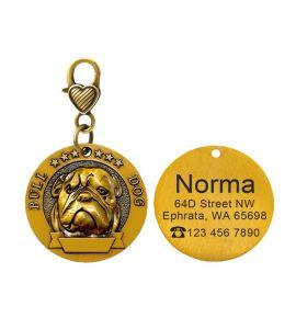 Médaille Bull dog