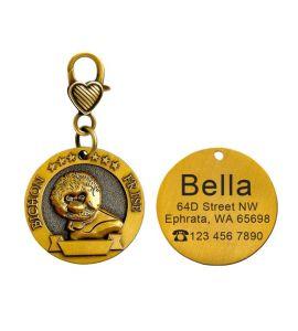 Médaille Bichon frisé