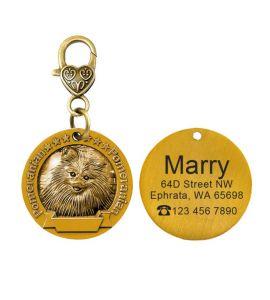 Médaille Pomeranian, Spitz nain