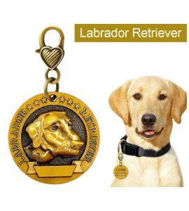 Médaille pour chien labrador