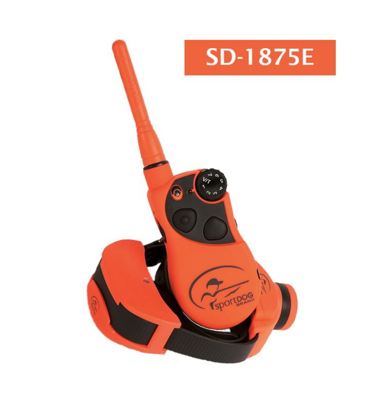 The SportTrainerR 1600m Training Collar With Beeper Provides Supreme Flexibility And Control At Your Fingertips This SportDOG SD 1875E
