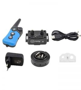 Kit completo Pet619-1 Trasmettitore, Ricevitore, Caricabatterie, Collare TPU, Tester