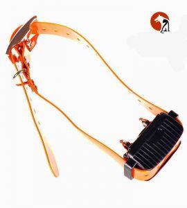 Vist des del collaret Aetertek AT918C la caixa receptora i la corretja TPU.