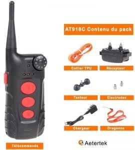 Contents of the Aetertek AT918C training kit