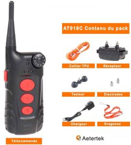 Inhalt des Aeteterek AT918C Packs