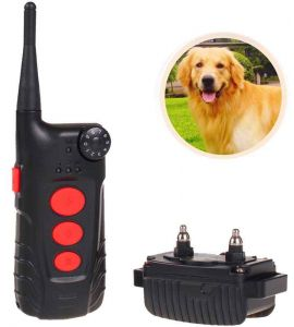 Aetertek  AT918C Training Collar with an automatic no-bark feature.