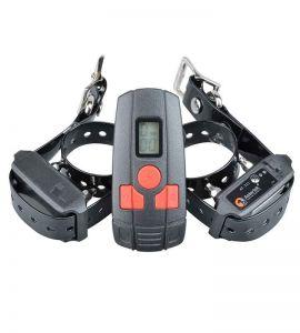 AT211D-2 Collare di addestramento per collare educativo per cani di piccola taglia o gatto per 2 cani.