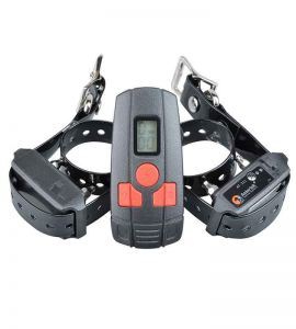AT211D-2 Special Small Dog or Cat Education Collar Training Collar for 2 Dogs.