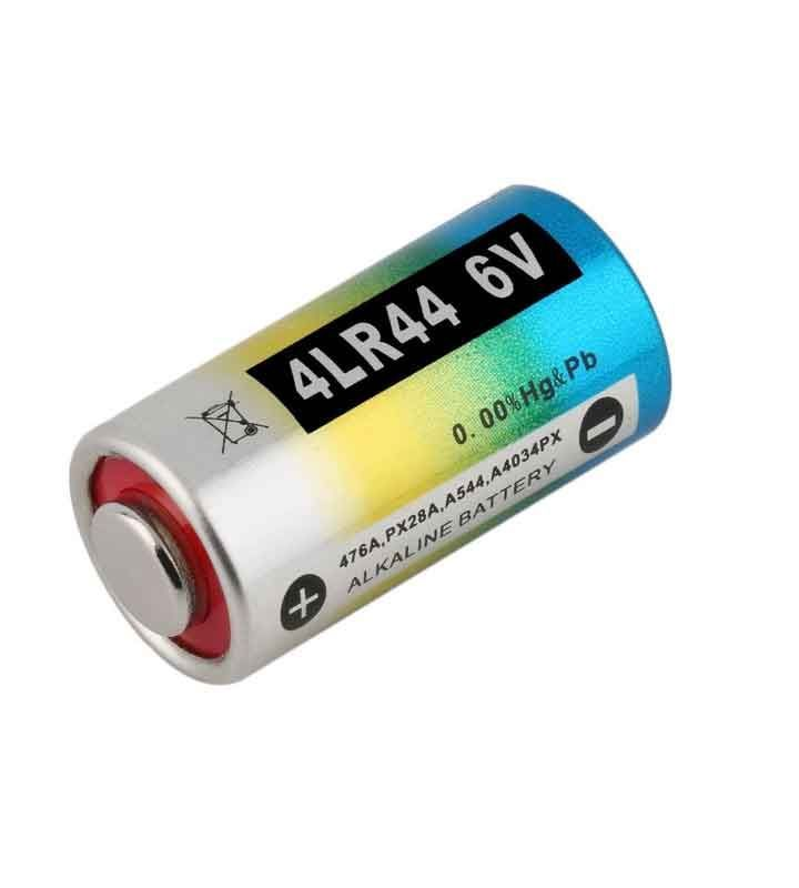 Battery for anti-bark collar 4LR44 Alkaline 6V