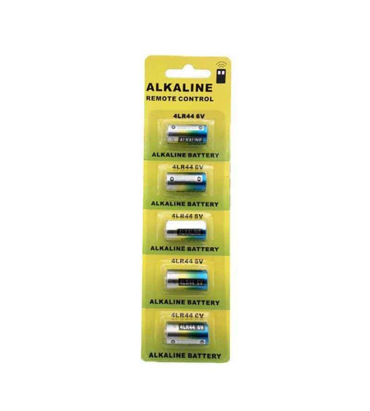 Pack de 5 baterías 4LR44