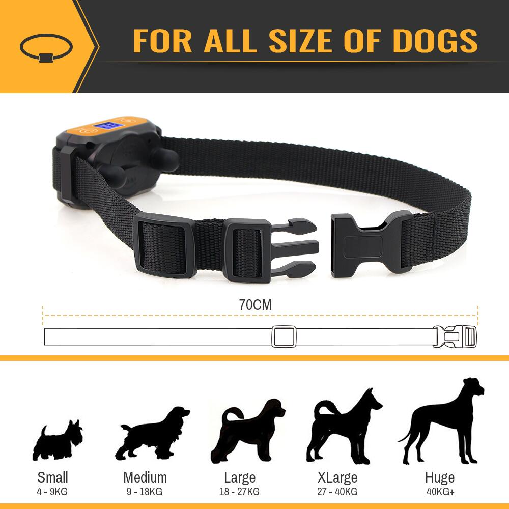 Adjustable collar for all sizes of dog