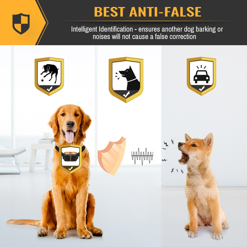 Intelligent trigger anti-bark collar